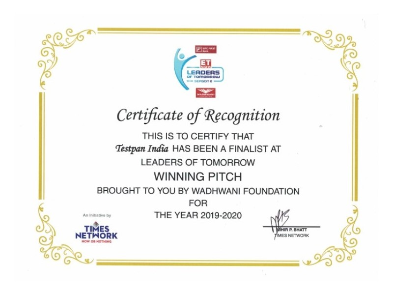 Leaders of Tomorrow Winning Pitch Northern Zone Jan-2020